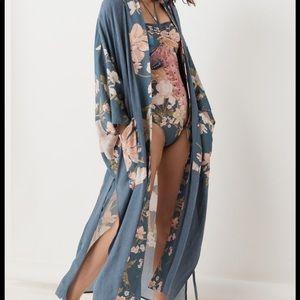 Spell Waterfall Kimono